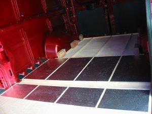 Deep Red A Self Build Motorhome Insulation