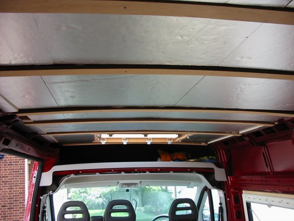 Deep Red - A self-build motorhome - insulation